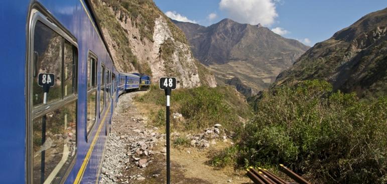 Cusco to Machu Picchu by Train