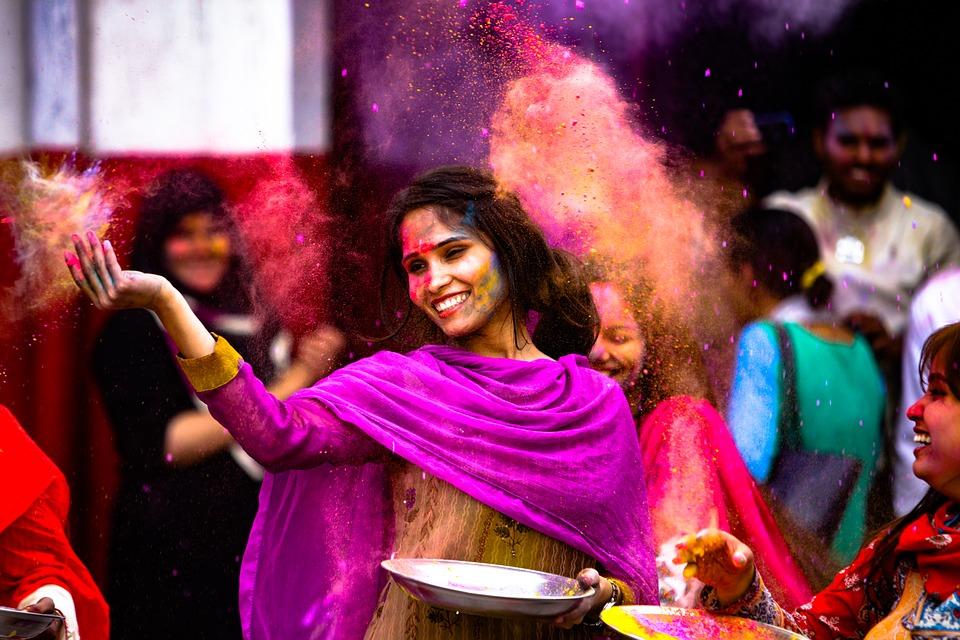 The Celebration of Holi
