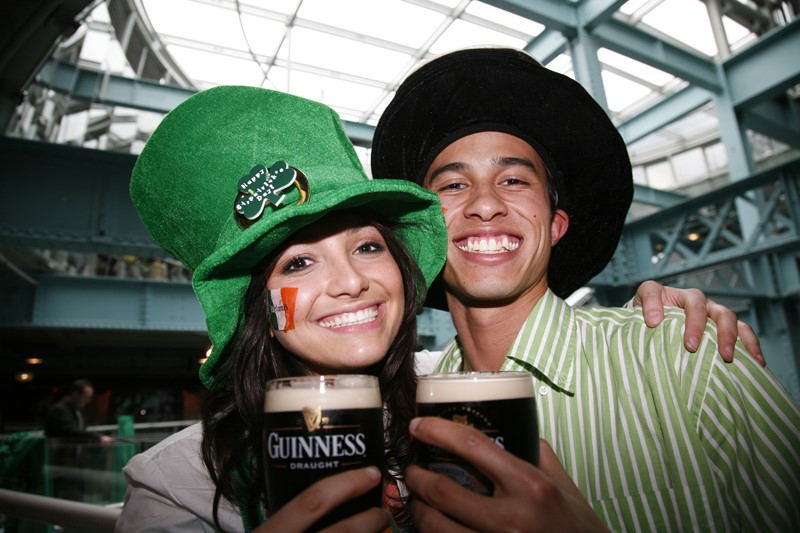 How did St Patrick's Day become a drinking holiday?