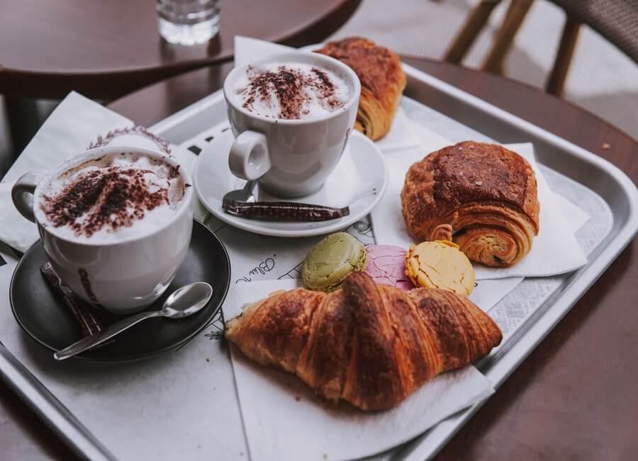 Lattes and Croissants in Paris
