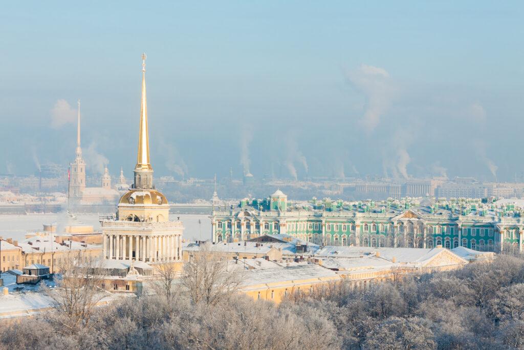 Saint Petersburg in the Winter
