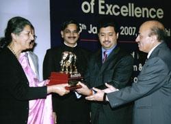 Award 25 Jan 2007
