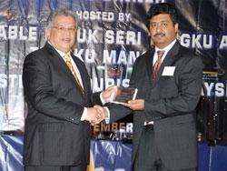 Award 13 Sep 2007