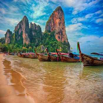 Beautiful Bangkok and Krabi