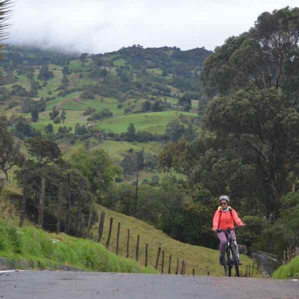 Biking In Colombia
