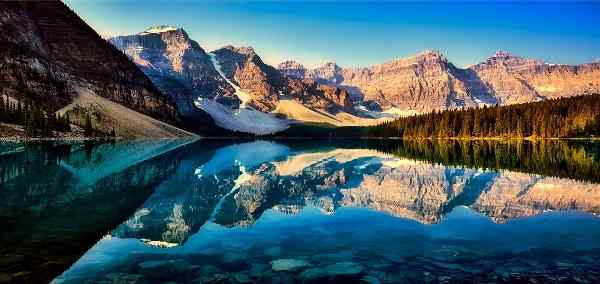 Western Canada Cities and Glaciers