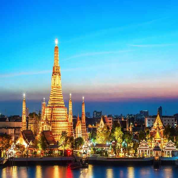 Bangkok with the Islands of Thailand