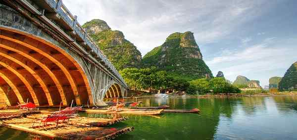 Golden Triangle of China And Yangtze River