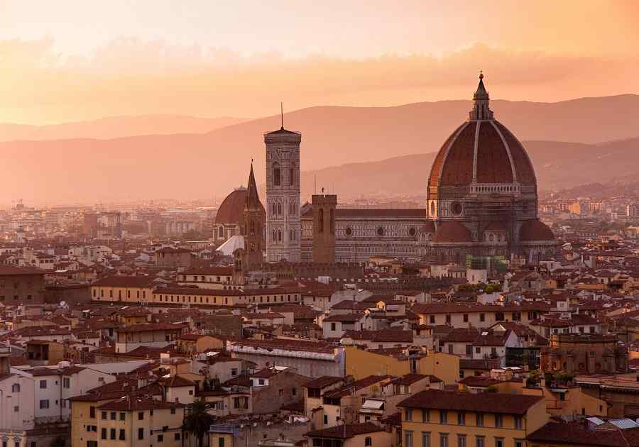 Rome, Florence And Venice By Rail