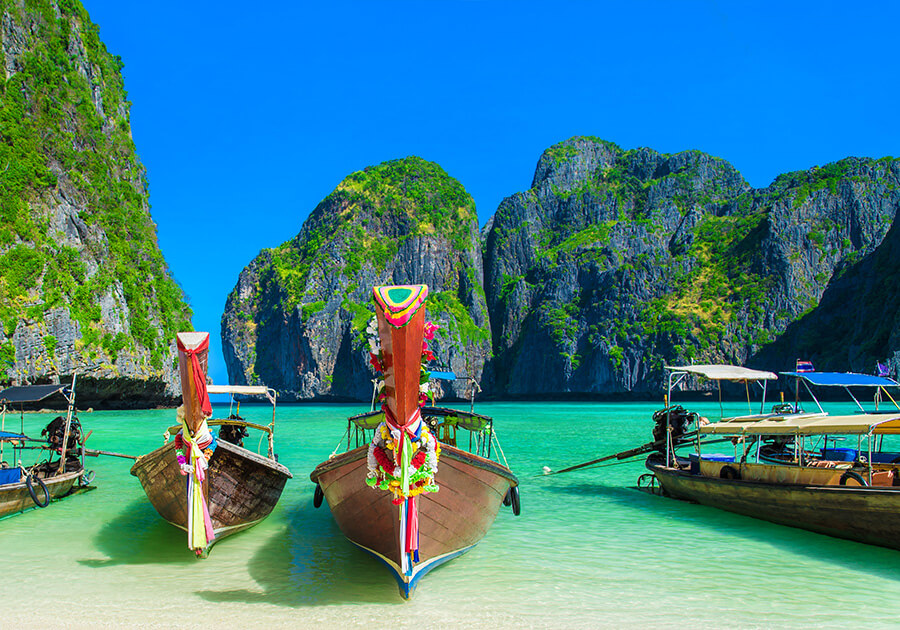 Islands & Beach Hopping In Thailand Ex USA