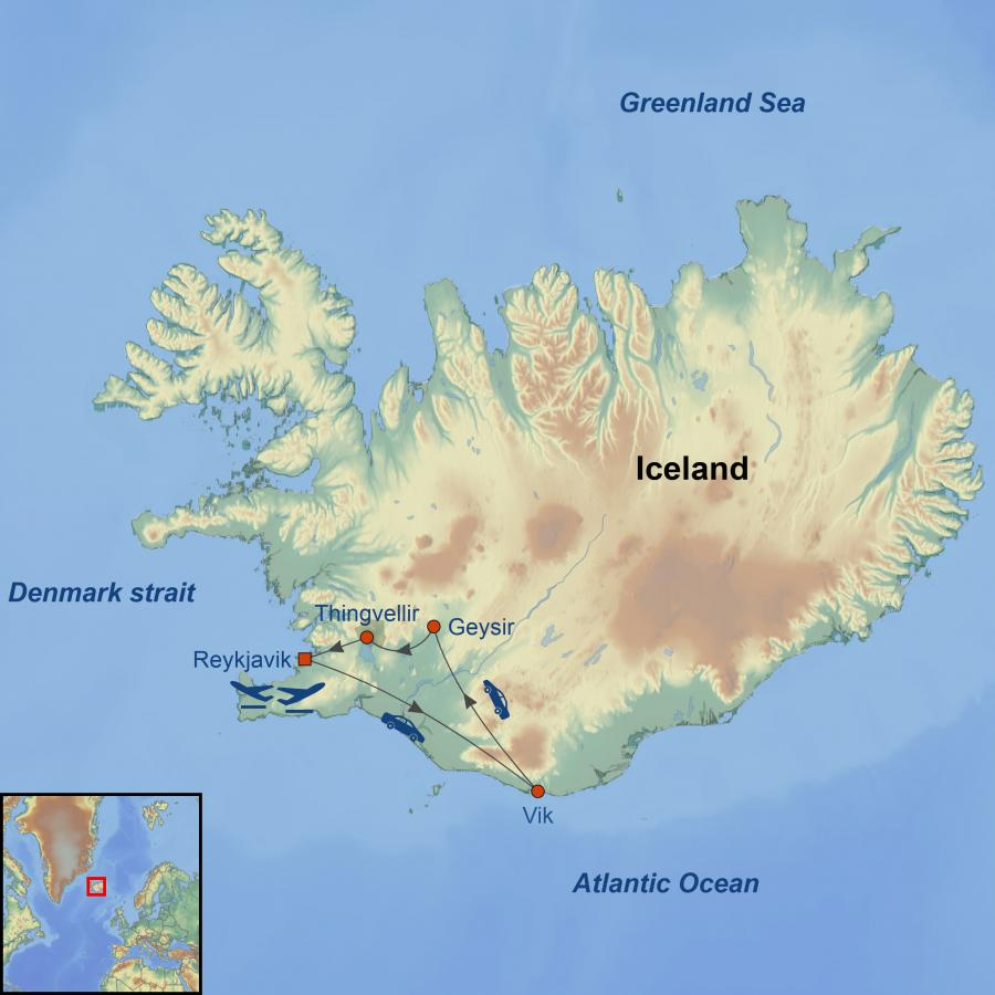 Golden Circle of Iceland