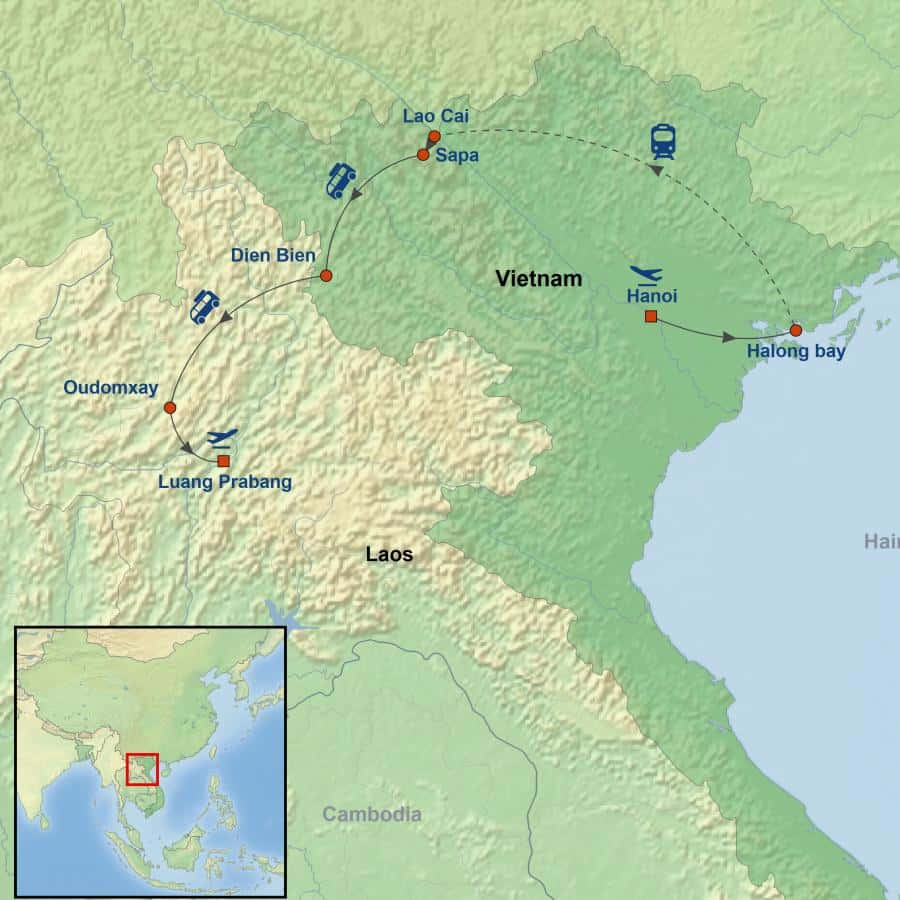 Vietnam and Laos Mountain Discovery