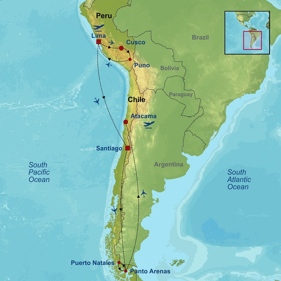 Best of Peru And Chile