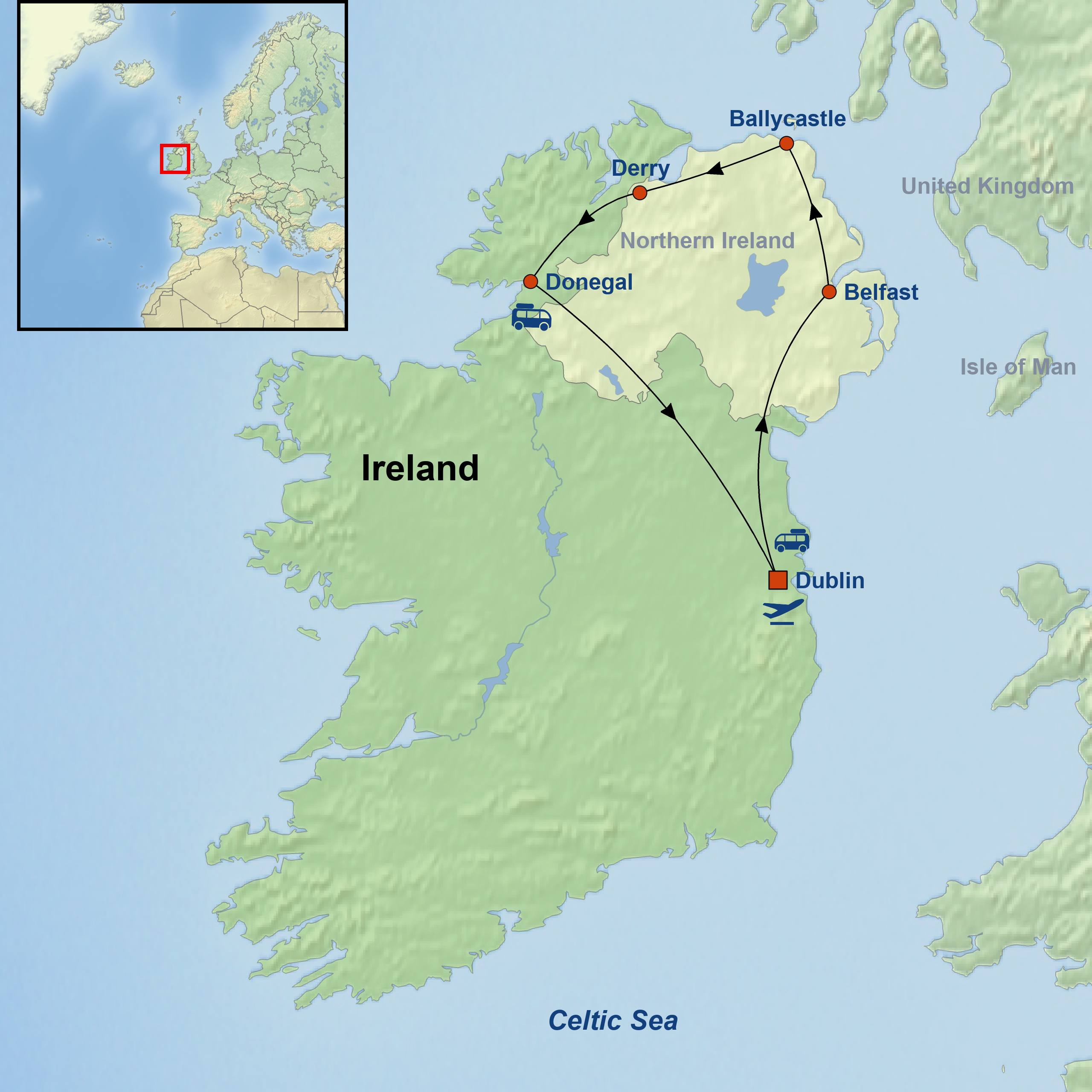 Game of Thrones in Ireland