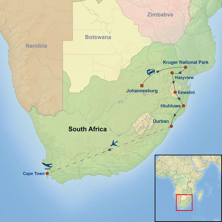 Captivating South Africa