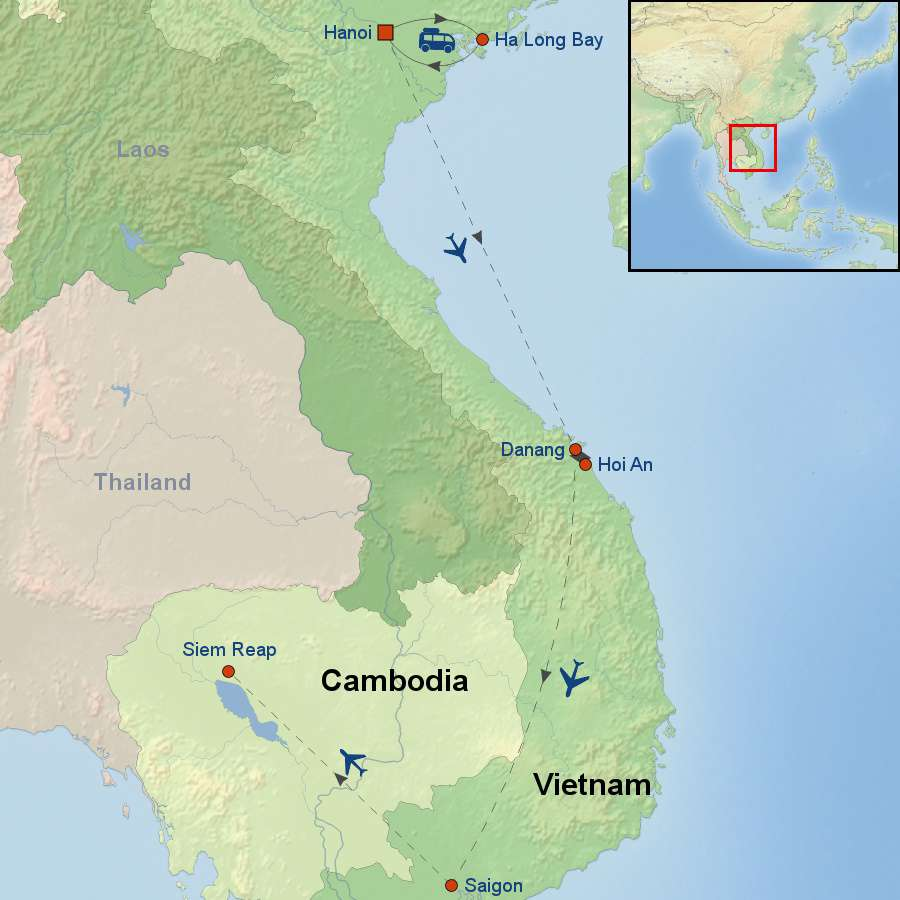 Best of Vietnam And Cambodia with Ingersoll District Chamber of Commerce
