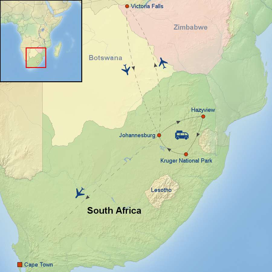 Discover South Africa with Victoria Falls (Longboat Key Chamber of Commerce)
